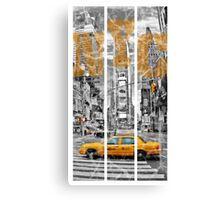 The New York Taxi Canvas Print