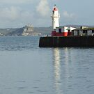 Newlyn Harbour 3 by George Crawford