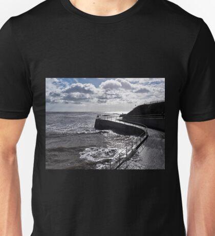 Seawall 2 - Lyme Regis Unisex T-Shirt