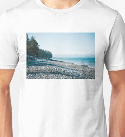 As My Chest Falls Unisex T-Shirt