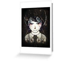 BLACK NOISE Greeting Card