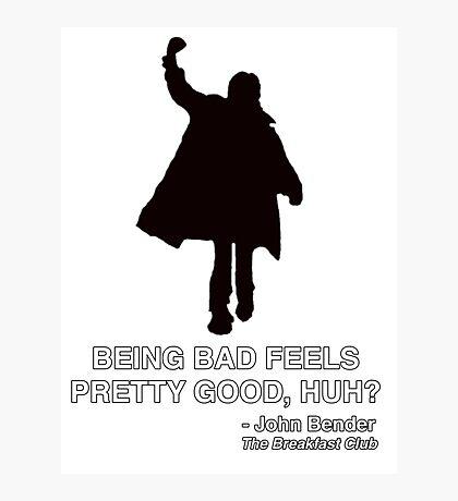 JOHN BENDER - THE BREAKFAST CLUB Photographic Print