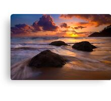 Surrounded by the Sea Canvas Print