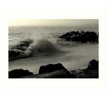 Cape May High Tide Art Print