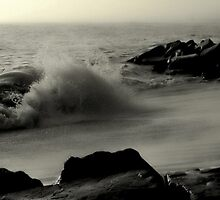 Cape May High Tide by AnneRN