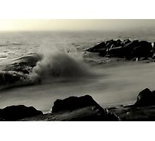 Cape May High Tide Photographic Print