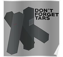 Don't Forget Tars Poster