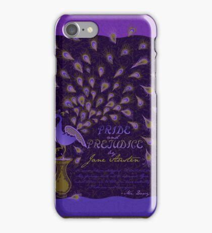 Paisley Peacock Pride and Prejudice: Royal iPhone Case/Skin