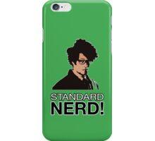 MOSS - STANDARD NERD! iPhone Case/Skin