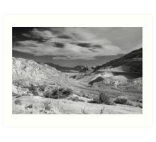 US 191 Through Moab, Utah Art Print