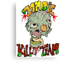 Zombie Kill Team Canvas Print