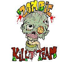 Zombie Kill Team Photographic Print