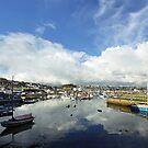 Newlyn Harbour 4 by George Crawford