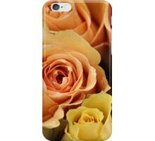 Apricot Roses iPhone Case/Skin