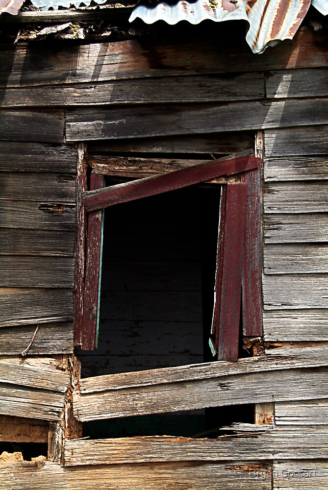 Old window by Bryan Cossart