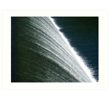 "Water over the spillway  ""Phototrip PT2"" Art Print"