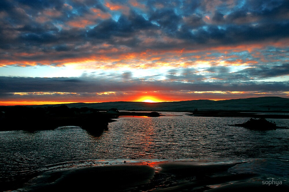 Sunset by sophya