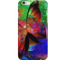 The sacred butterfly iPhone Case/Skin