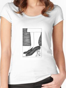 Shoe and heel Women's Fitted Scoop T-Shirt