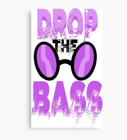 DJ Pon-3: Drop the Bass Canvas Print