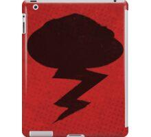 Misfits-Style Halftone Grunge Storm Icon iPad Case/Skin