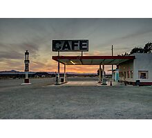 Roys Cafe  Photographic Print