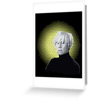 Saint Andy Warhol Greeting Card