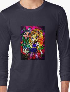 Rainbow Rocks - The Dazzlings Long Sleeve T-Shirt