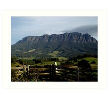 photoj-Tasmania, Mt Roland Kentish Country Art Print