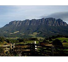 photoj-Tasmania, Mt Roland Kentish Country Photographic Print