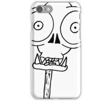 THE MONKEY SKULL LOLLY iPhone Case/Skin