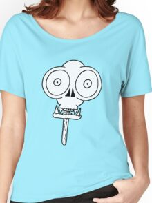 THE MONKEY SKULL LOLLY Women's Relaxed Fit T-Shirt