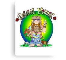 The Original Hippie Canvas Print