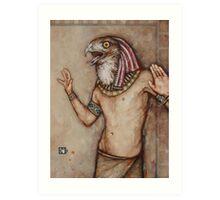 Angry Horus, Screaming Art Print