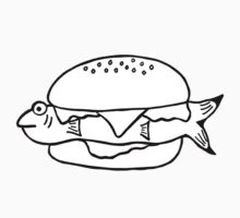 FRESH FISH BURGER One Piece - Short Sleeve