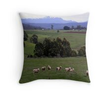 photoj-Tasmania Countryside  Throw Pillow