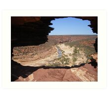 Looking Through Natures Window  Art Print