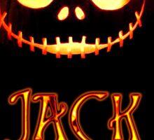 Jack The Pumpkin King Sticker