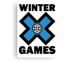Winter X Games Canvas Print