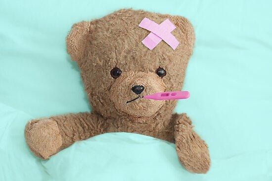 teddy is sick by Enjoylife