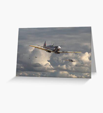 Spitfire - Strike Force Greeting Card