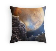 Spacerock IV - Lonely Planet Throw Pillow