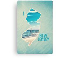 I Love New Jersey Canvas Print