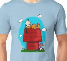 Duck Hunt\Snoopy Unisex T-Shirt