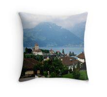 Spiez, Switzerland Throw Pillow