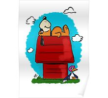 Duck Hunt\Snoopy Poster