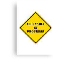 Ascension In Progress Canvas Print