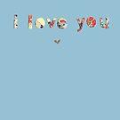 cut out love by art4friends