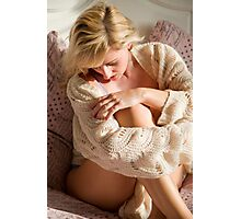 Knitted top Photographic Print