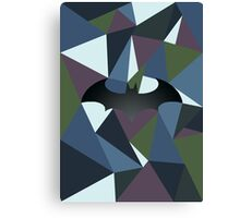 Batman polygon Canvas Print
